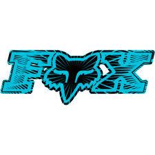 Fox Racing Fox Racing Inner Space Single Stickers Graphic Kit Accessories Fox Racing Tattoos Fox Racing Fox Racing Logo