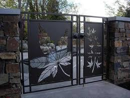 Trellises Arbors Pergolas All Oregon Landscaping Modern Gate Gate Design Steel Gate Design