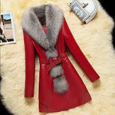 fenghua 2019 spring leather faux fur