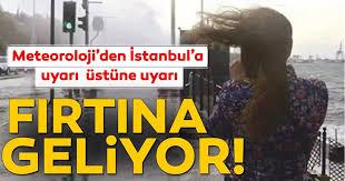 Hava Durumu | Meteoroloji'den İstanbul için son dakika fırtına ve hava  durumu uyarısı geldi! Bugün hava nasıl olacak? 13 Eylül - Meteoroloji
