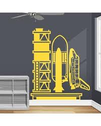 Huge Deal On Kogut Nasa Rocket Wall Decal Zoomie Kids Color Yellow