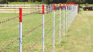 Install Bracing And Line Posts