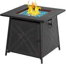 bali outdoors firepit lp gas fireplace