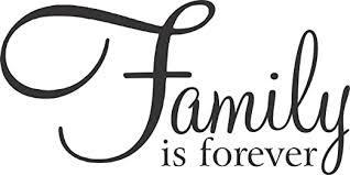 Amazon Com Family Is Forever Family Decals Wall Vinyl Decals 24 X 12 Inches Family Is Forever 24 X 12 Kitchen Dining