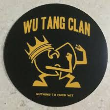 Wu Tang Clan Vinyl Sticker Decal For Sale Online Ebay