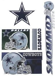 Amazon Com Dallas Cowboys Set Of 5 Ultra Decals Removable Reusable Nfl Window Decals Everything Else