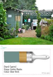 paint your garden shed
