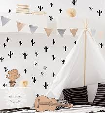 Amazon Com A Cactus In The Room Cactus Wall Decal Cactus Sticker Kids Wall Decal Kids Room Decor Removable Nursery Gift Handmade