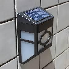 light solar outdoor wall lamp led