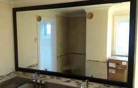 frameless mirror ikea wall mirrors