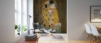 The Kiss Gustav Klimt A Wall Mural For Every Room Photowall