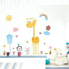 Giraffe Bedroom Decor Upload Buy Animals Bird Wall Stickers For Kids Room Nursery Sutanrajaamurang