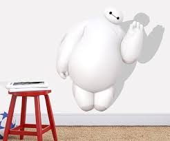 3d Baymax Big Hero 6 Wall Stickers For Kids Nursey Home Decoratioin Baymax Hiro Decorative Wall Decals For Boys Wall Art Paper Wall Decal Decor Wall Decal Decorations From Huayanpan 13 65 Dhgate Com