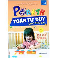 Combo Trọn Bộ sách POMath Toán tư duy cho trẻ em 4 đến 6 tuổi và