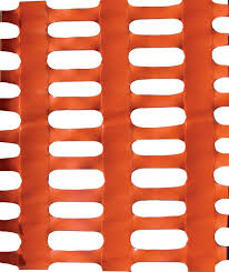 Buy Orange Plastic Safety Mesh Fence Professional Plus 30m Roll Here Barriers4u Co Uk Barriers For Crowd Control Safety