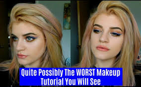 worst makeup tutorial saubhaya makeup
