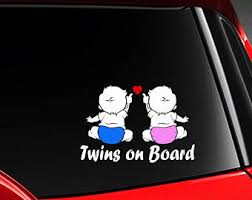 Twins On Board Etsy