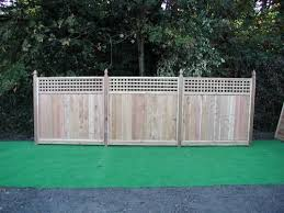 Imperial 6 X 6 Cedar Square Lattice Top Fence Panel At Menards Fence With Lattice Top Porch Flowers Square Lattice