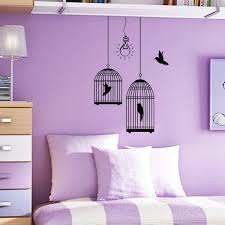 Wall Decal Bird Cages With Birds Light From Decalsfromdavid On