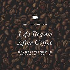 coffee beans quote instagram post templates by canva