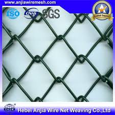 China Security Pvc Coated Galvanized Chain Link Mesh Fence Supplies China Chain Link Fence Wire Mesh Fence