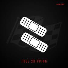 Car Scratch Band Aid Vinyl Decal Sticker Set Of 2 Etsy