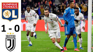 Lyon vs Juventus 1 - 0 | Champoins League Highlight 26.2.2020 ...
