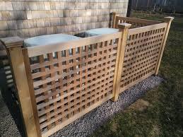 Lattice Fence To Hide Air Conditioner Google Search Fence Around Pool Contemporary Fencing Cedar Fence
