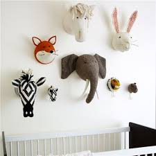 Fiona Walker England Fox Head Wall Decor Dieren Koppen Kunstwerk Ophangen Olifant
