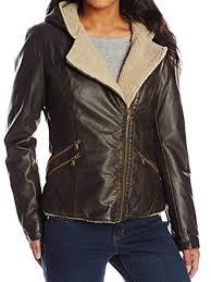 women s asymmetrical faux fur jacket in