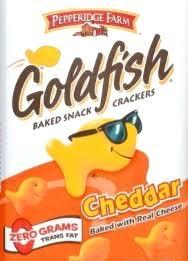goldfish ers cheddar 6 oz bag
