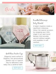 christening gifts for baby s