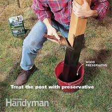 How To Set Fence Posts That Won T Rot Diy Family Handyman