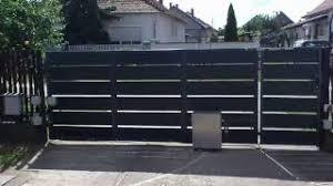 homemade gate opener diy by bartech20