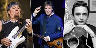 Adrian Smith Reveals The Unheard Thing Paul McCarney & Johnny Cash ...