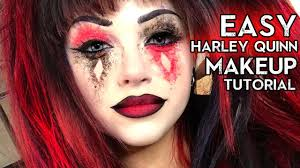 harley quinn makeup tutorial glam and