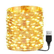 Dây đèn LED 10M 5M 3M 2M sạc USB dùng trang trí Giáng Sinh tiệc cưới nhà  cửa