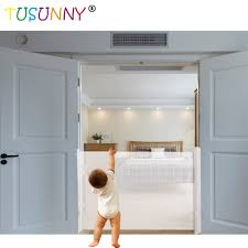 2020 Retractable Baby Gate Indoor Or Outdoor Metal Baby Safety Gate Wholesale Baby Supplies Products Products On Tradees Com