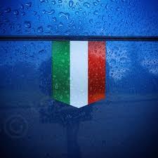 Flag Of Italy Sticker 1 3 8 X 1 3 4 Italian Etsy