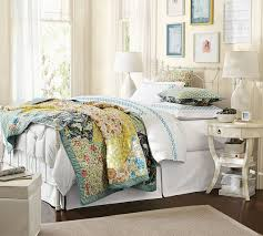 scalloped organic patchwork quilt