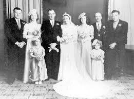 Photograph - Patrick James & Ivy Burns' wedding photograph - Victorian  Collections