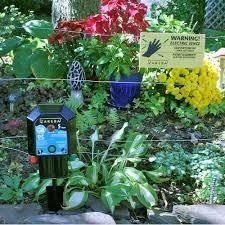 zareba garden protector battery powered
