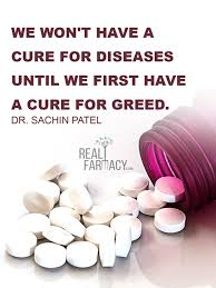 Image result for Big Pharma greed