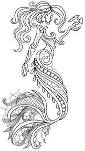Aquarius Mermaid Image Kleurplaten Volwassenen Kleurplaten