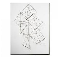 wire crystals wall decor wall art