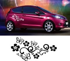 Discount Flower Decals Cars Flower Decals Cars 2020 On Sale At Dhgate Com