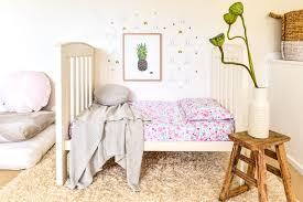 fairy garden fl cot crib sheet set