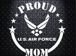 Air Force Car Decal 6 5 Inch Decal Proud Mom Proud Dad Proud Aunt Proud Uncle Proud Wife Proud Girlfriend Family Car Decals Family Car Air Force