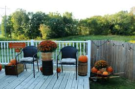 My Own Fall Pumpkin Patch Porch And A Diy Sign Knick Of Time