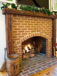fireplace mantel with reclaimed timbers